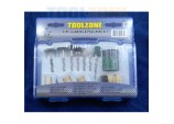 Cleaning & Polishing Kit for Rotary Tools- 24 Piece by Toolzone
