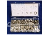 Flat Spring Washer Assortment, 790 Piece, Stainless Steel  by Toolzone