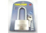 Long Shackle Padlock with 4 Security Keys 60mm Heavy Duty by Toolzone