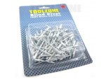 Rivets 4mm x 10mm, 100 Piece  by Toolzone