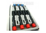 Precision Torx Screwdrivers In Case 7 Piece by Toolzone
