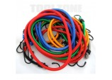 Bungee Cord / Shock Rope / Elastic Strap Set by Toolzone