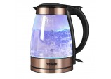 Tower T10021 Illuminated Kettle, 3000 W, 1.7 Litre, Rose Gold