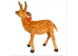 Xmas Large 47cm Standing Reindeer - Soft Cuddly Fawn