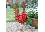Smart garden Bertie Rooster Metal garden ornament