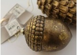 Christmas Cone -Large Hanging 'Antique' look Cone Tree Decoration Ornament