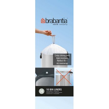Brabantia Perfect Fit Bin Liners - Size H