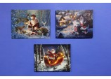 Santa Collection' LED Decorated Canvas