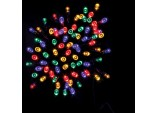 50 Battery operated LED timer lights- Multi colour