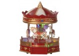 25cm Battery operated Musical carousel