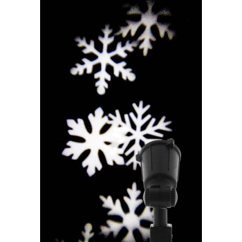 Outdoor LED projector - Snowflake design