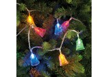 100 LED Bell lights - Multi coloured LED