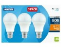 Box of 3 LED Bulbs Bayonet Cap GLS - 9W
