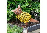 Metal Oscar Owl Garden Ornament