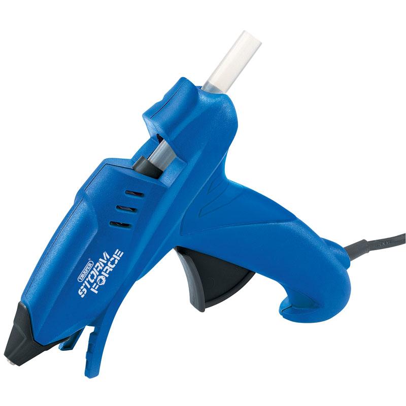 Storm Force® Glue Gun with Six Glue Sticks (100W) – Now Only £8.41