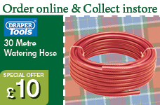 12MM Bore x 30M Red Watering Hose  – Now Only £10.00