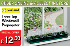 Three Top Windowsill Propagator  – Now Only £12.50