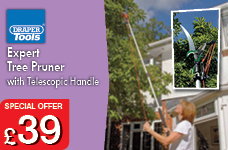 Expert Tree Pruner with Telescopic Handle. – Now Only £39.00
