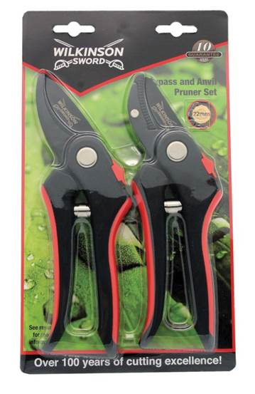 Bypass and Anvil pruner twin pack – Now Only £10.00