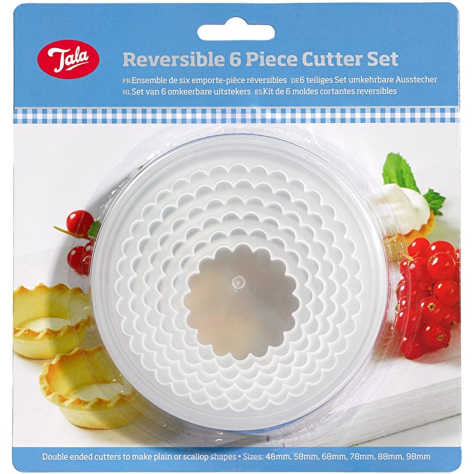 Reversible 6 Piece Cutter Set – Now Only £2.50