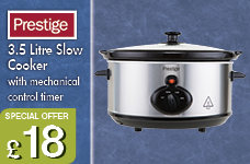 3.5L Mechanical Slow Cooker – Now Only £18.00