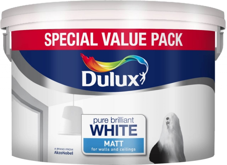 7 Litre Rich Matt Pure Brilliant White Special Value Pack – Now Only £15.00