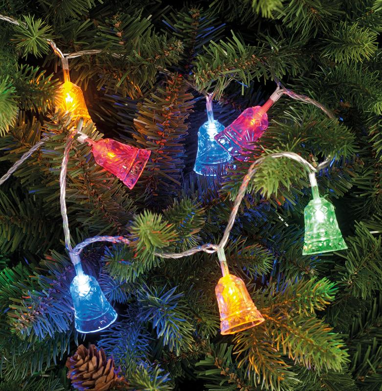 100 LED Bell lights - Multi coloured LED – Now Only £15.00