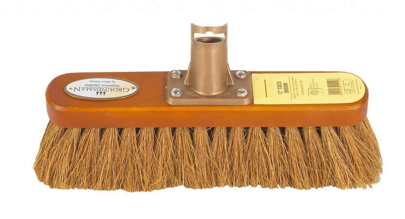 """12""""/30cm Coco Groundsman Broom – Now Only £6.00"""