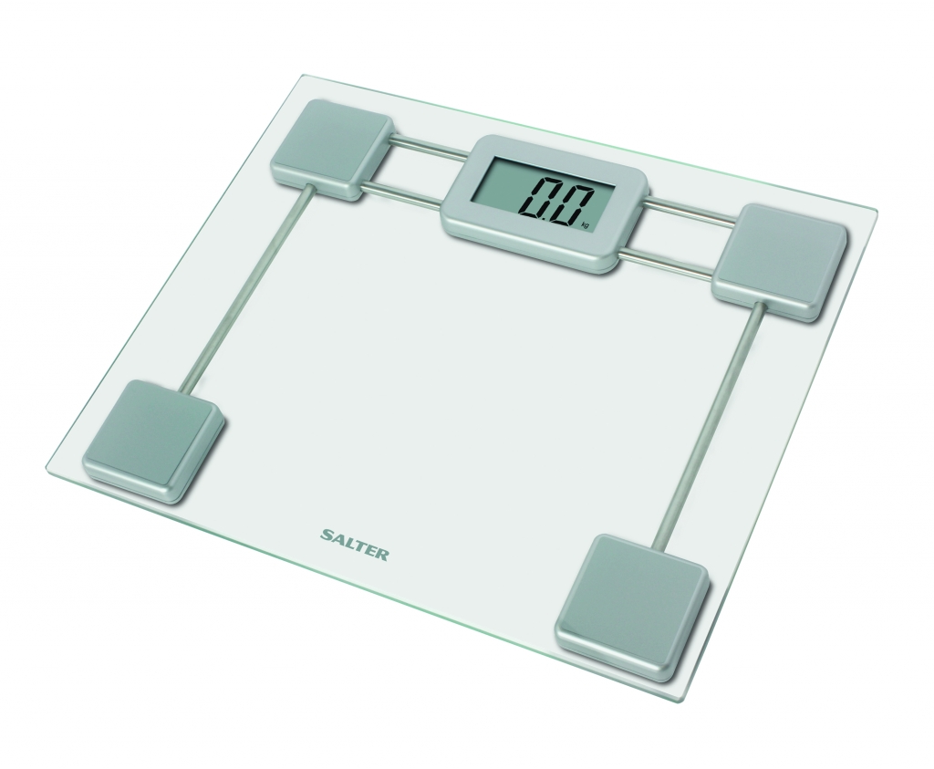 Compact Glass Electronic Bathroom Scale – Now Only £12.00