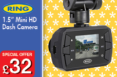 """1.5"""" Mini HD Dash Camera  – Now Only £32.00"""