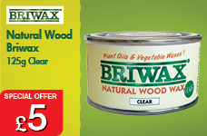Natural Wood Wax 125g – Now Only £5.00