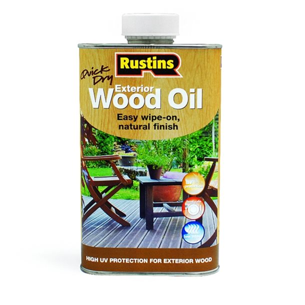 Quick Dry Exterior Wood Oil 500ml – Now Only £9.00