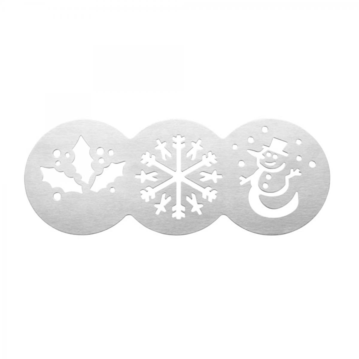Christmas Cake Stencils - 3 designs – Now Only £1.00