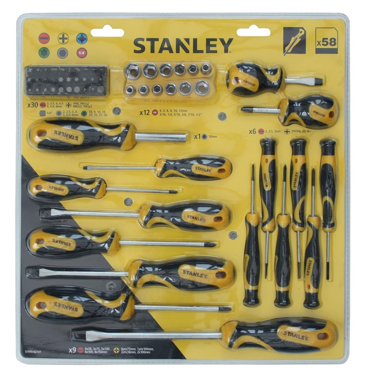 Screwdriver set 58 Piece – Now Only £20.00