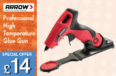 Arrow Professional High Temp Glue Gun – Now Only £14.00