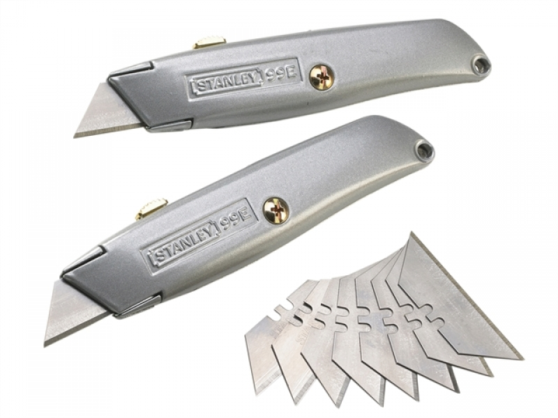 Stanley 99E Knife Twinpack and 10 Blades – Now Only £10.00