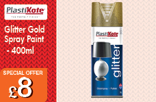 Glitter Spray Paint 400ml -  – Now Only £8.00