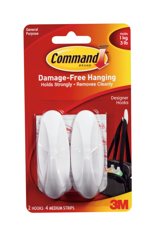 Damage Free Hanging Hooks – Now Only £4.00
