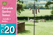 Complete Garden Station – Now Only £20.00