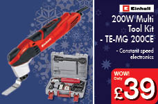 200W Multi Tool Kit - TE-MG 200 CE – Now Only £39.00