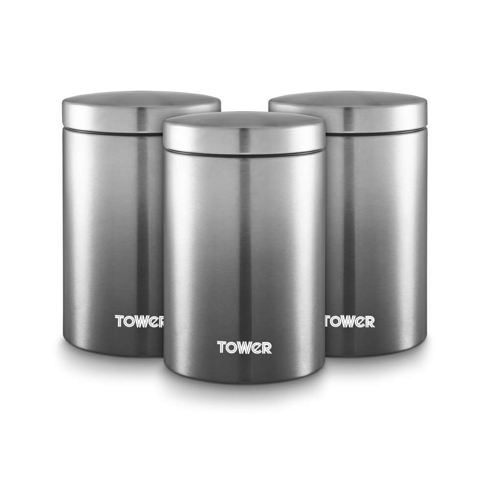 Graphite Canisters - Set of 3 – Now Only £18.00