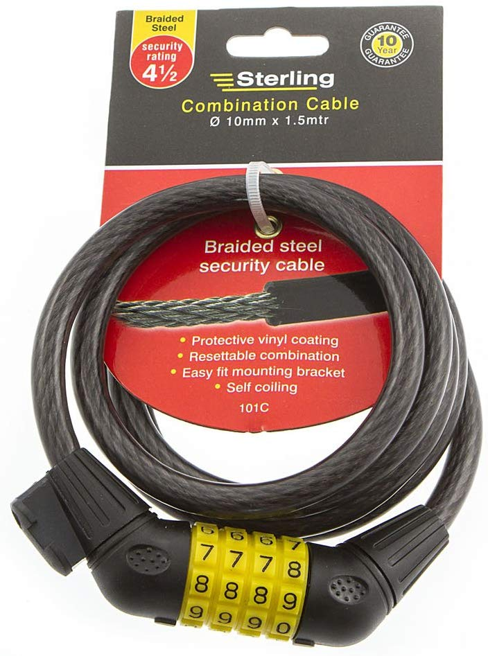 Combination Locking Cable – Now Only £8.00