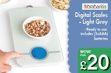 Digital Scales - Light Grey – Now Only £20.00