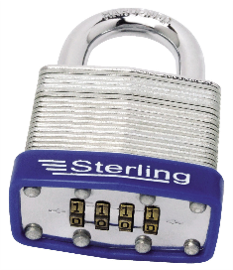 50mm Laminated Steel Combination Padlock – Now Only £9.00