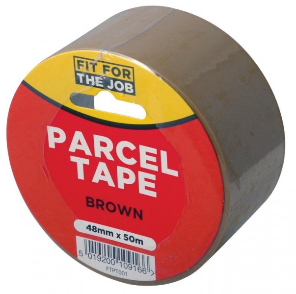 50m Brown Parcel Tape – Now Only £1.00