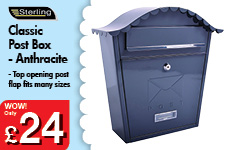 Classic Post Box - Anthracite – Now Only £24.00