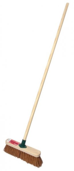 30.5cm Soft Sweeping Broom with Handle – Now Only £6.00