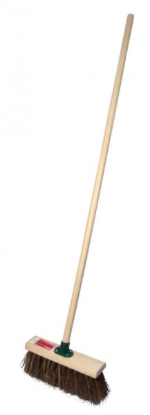 33cm Stiff Yard Broom with Handle – Now Only £9.00
